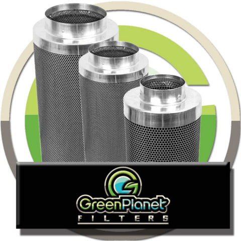 "Green Planet Odor and Air Quality Filters- 4""- 12"" Flange"