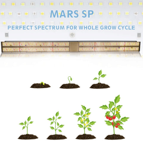 Mars Hydro SP 250 Perfect Spectrum for whole grow