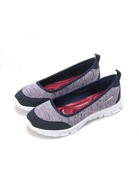 Larrie Purple Stretchable Casual Sporty Sneakers