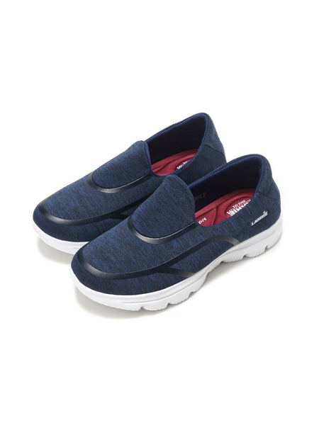 Larrie Navy Stylish Casual Sporty Sneakers