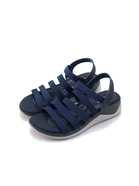 Larrie Navy Snazzy Sport Sandals