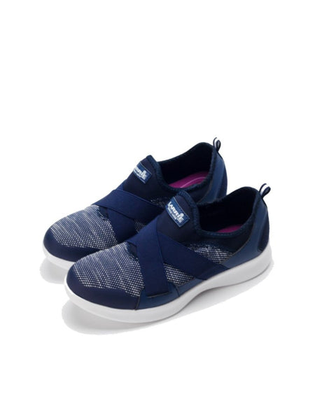 Larrie Navy Comfort Casual Sporty Sneakers