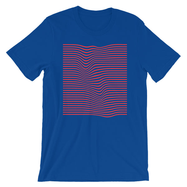 Wave Red Unisex T-shirt