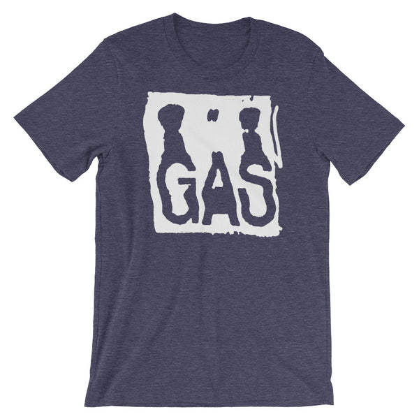 GAS by MGDR T-shirt White ink edition