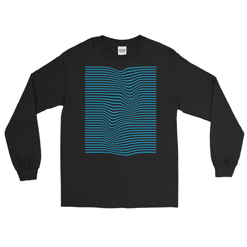 Wave Blue Long Sleeve T-Shirt