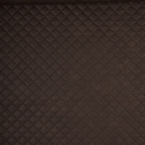 Jutta Quilted Leatherette, Dark Brown
