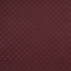Jutta Quilted Leatherette, Bordeaux