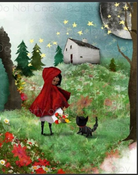 Little Red Riding Hood Rapport Set