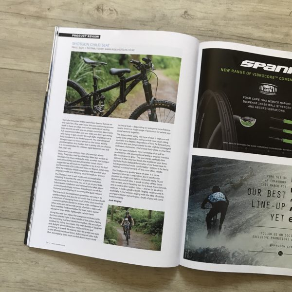 NZ Mountain Biker Magazine Review