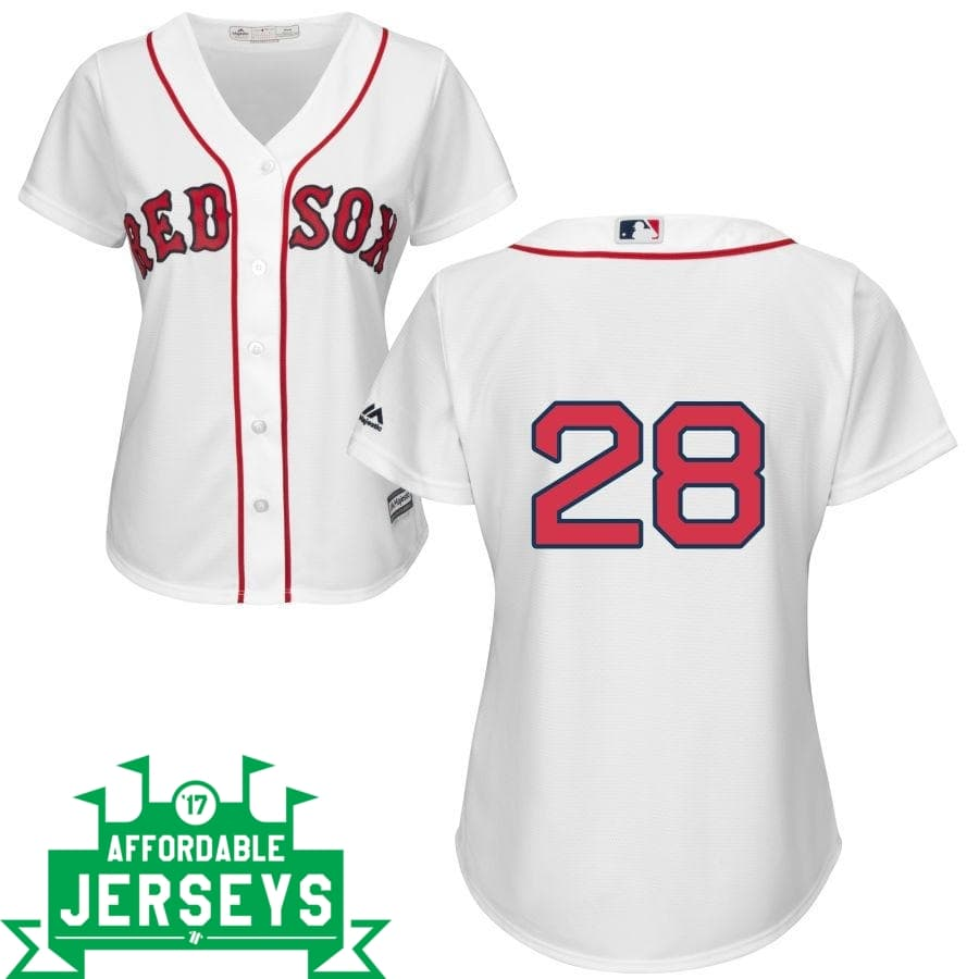 J.D. Martinez Home Women's Cool Base Player Jersey