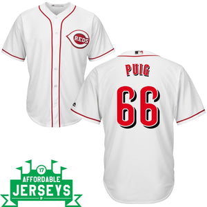 Yasiel Puig Home Cool Base Player Jersey