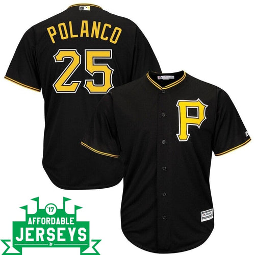 Gregory Polanco Alternate Cool Base Player Jersey