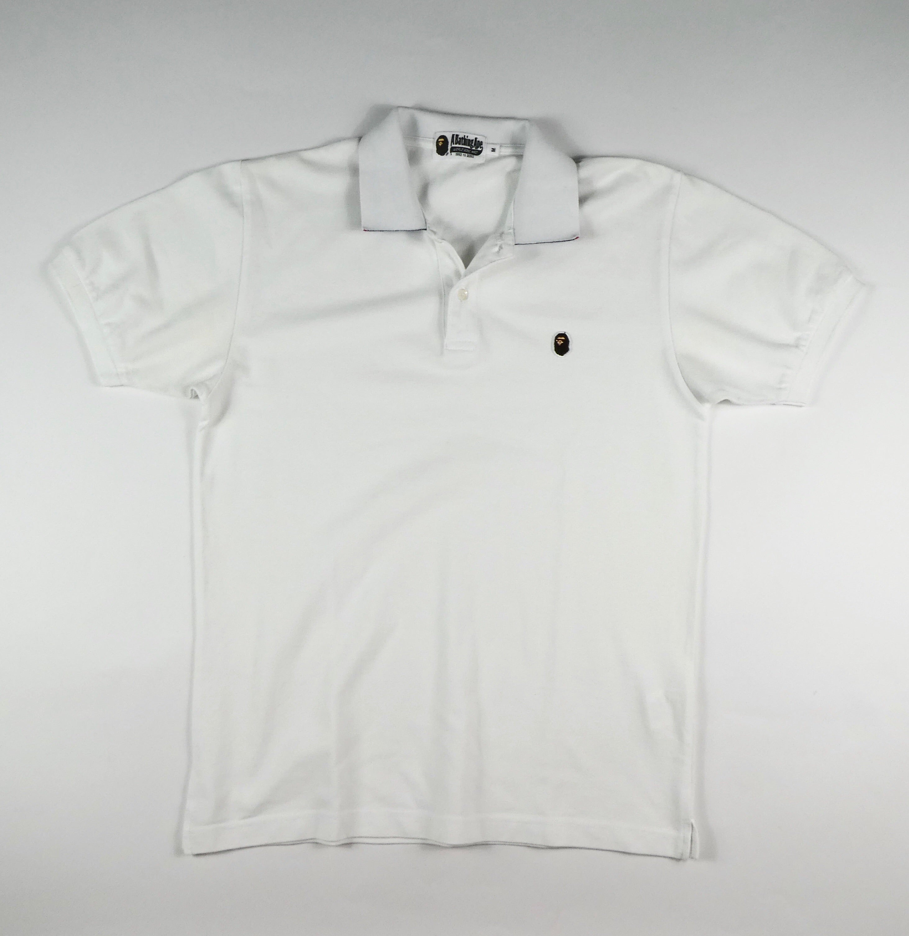 Bape Ape Head Polo Shirt - Medium