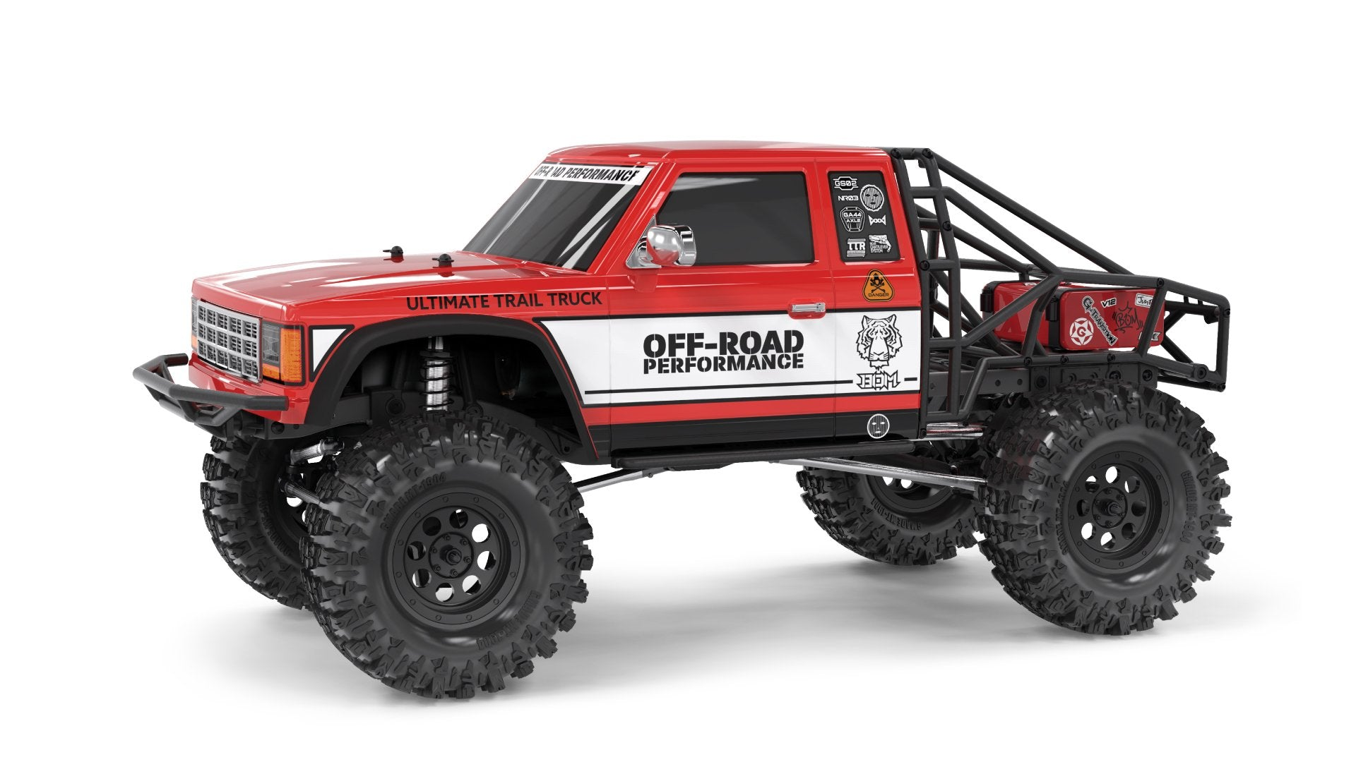 GMADE - 1/10 GS02 BOM 4WD ULTIMATE  SCALE TRAIL TRUCK KIT. Best Seller!