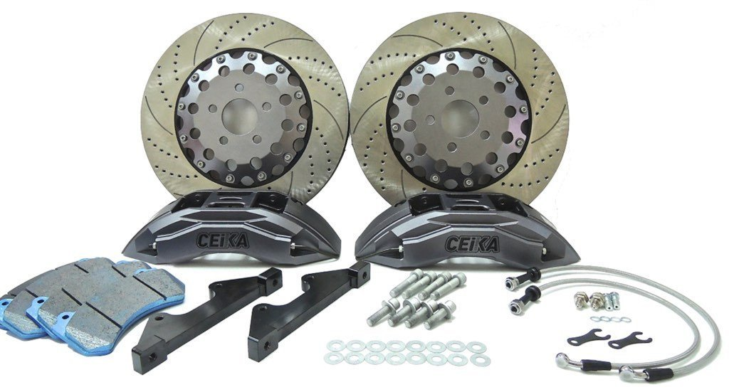 CEIKA Custom Big Brake Kit for Porsche 911 976 C4S Turbo Carrera 4S (01~05) - ceikaperformance