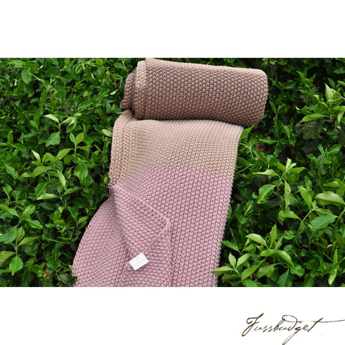 Cotton Throw Blanket - Zac Collection - English Laundry - 100% Cotton-Fussbudget.com
