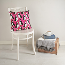 Load image into Gallery viewer, Perky Puffin Cushion