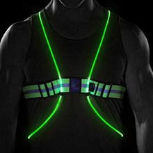 High Quality LED Reflective Running Vest With Lights