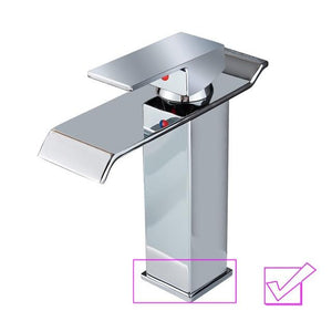 Waterfall Faucet For Bathroom Tub Or Sink