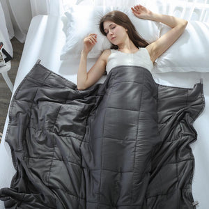 Weighted Blanket Quilt For Adults Anxiety Autism Comforter