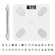 Bluetooth Smart Digital Scale Body Analyzer For Bathroom