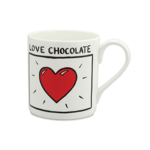 Love Chocolate China Mug