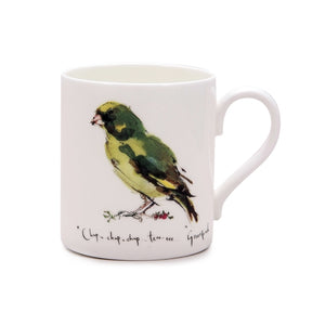 Madeleine Floyd Greenfinch China Mug