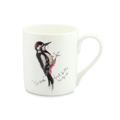 Madeleine Floyd Great Woodpecker China Mug