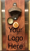Custom Engraved Magnetic Bottle Opener (Cheers... or Your Logo) - A Good Turn Colorado