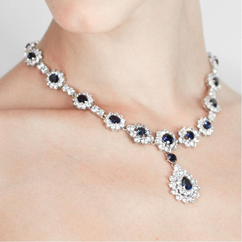 Federica Sapphire Necklace