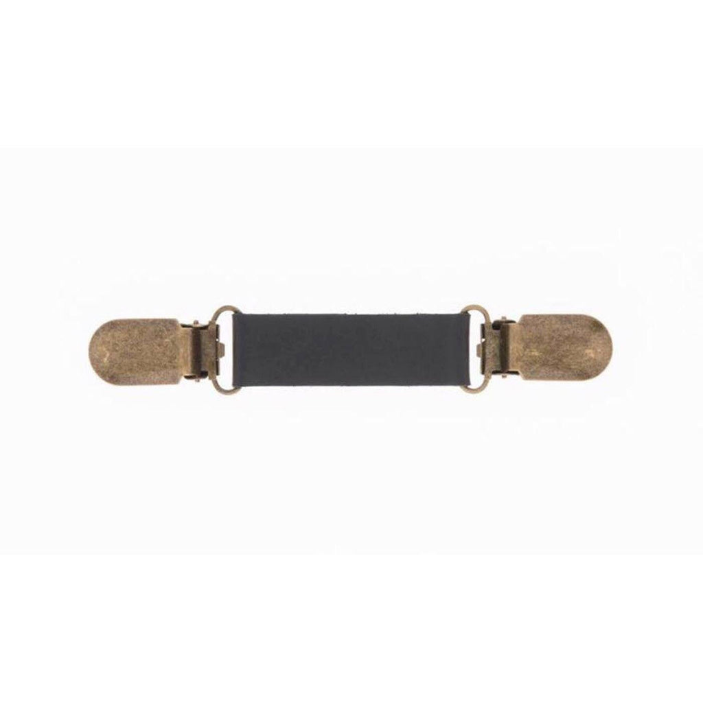 "Mini-Belt ""MODAR"" Black Golden Clips"