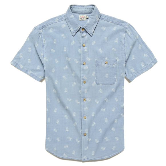 Coast Pineapple Print Shirt