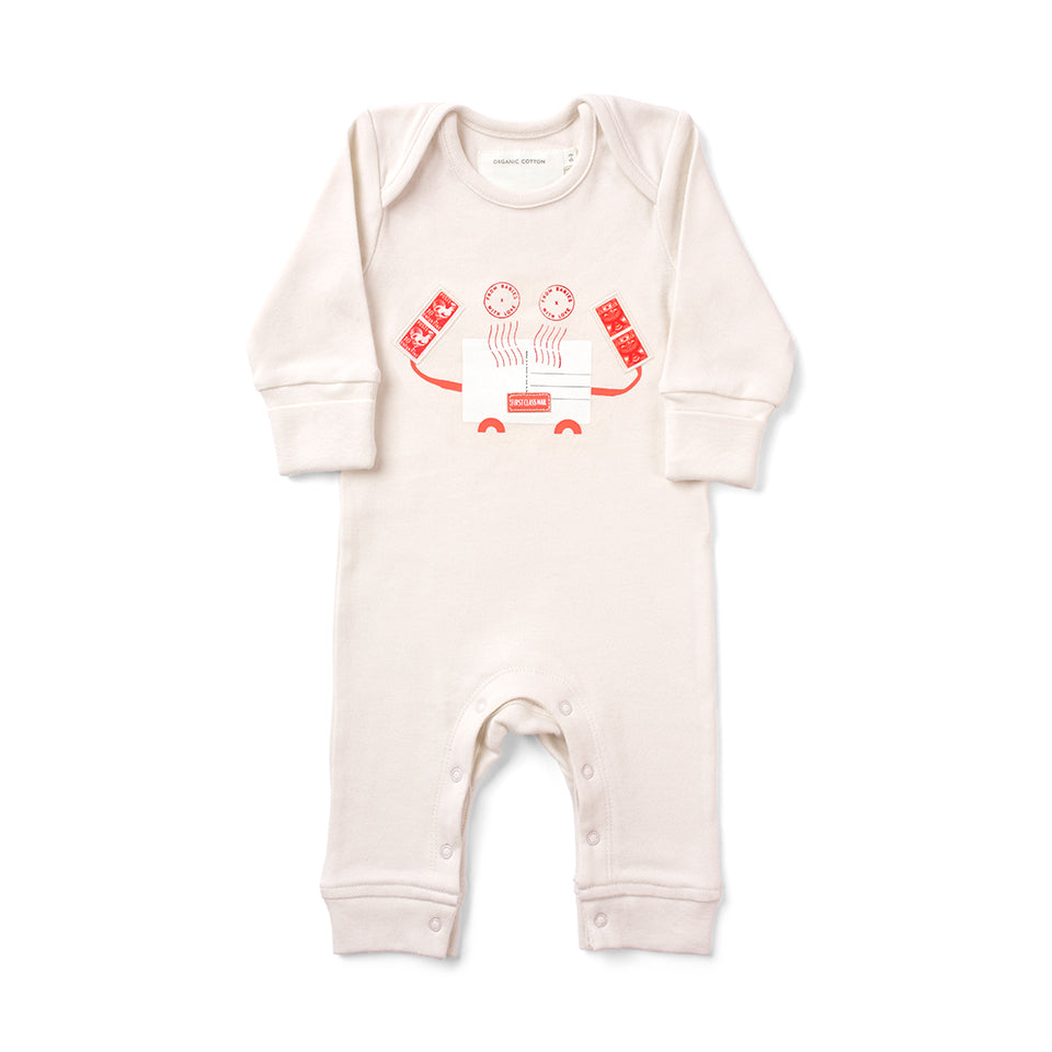 Crab Organic Baby Grow - From Babies with Love 100% of Profit to Vulnerable Children