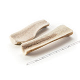2-Pack Medium Split Elk Antler Dog Chew - Devil Dog Pet Co