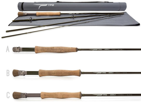 Temple Fork Axiom II Fly Rod