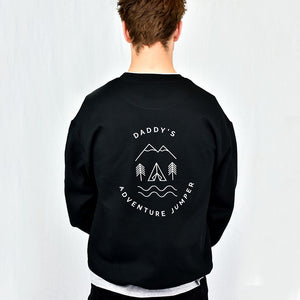 Men's Personalised Adventure Sweatshirt Jumper