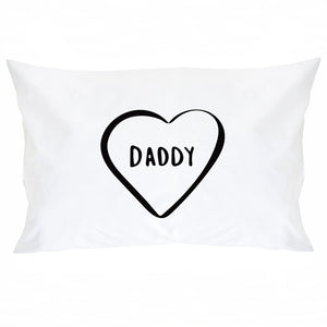 Daddy Daddy And Me Pillow Case Set