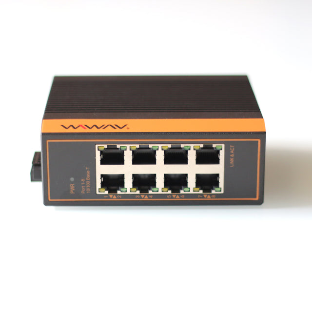 W1108-8GE-I 10/100/1000Mbps 8-Port Industrial Ethernet Switches
