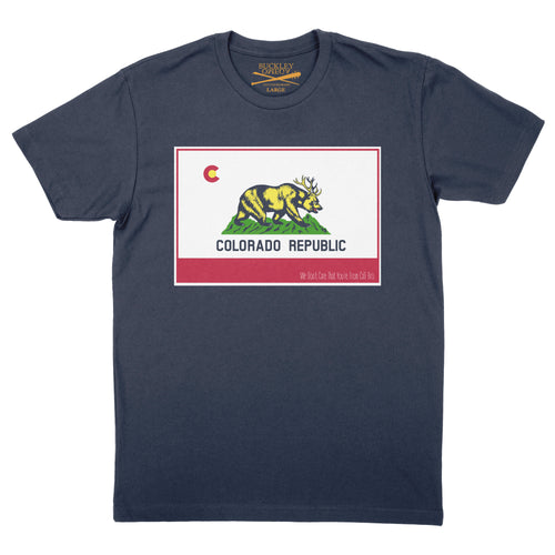 Men's Colorado Republic - Navy t-shirt