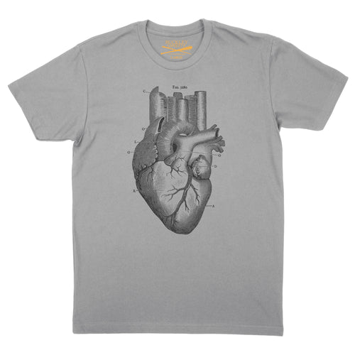 Men's Heart of the City- Grey T-shirt