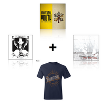 Load image into Gallery viewer, Super Catholic Rock Fan Bundle - Thirsting Sun T-Shirt