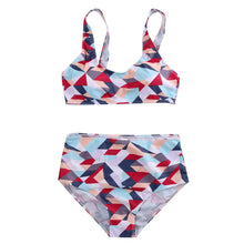 Load image into Gallery viewer, Bikini Set Geometric Print