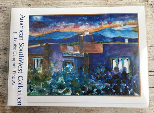 American SouthWest -  10 Art Cards