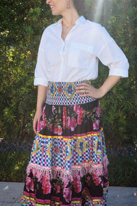 Multicolor skirt - Lovinglam