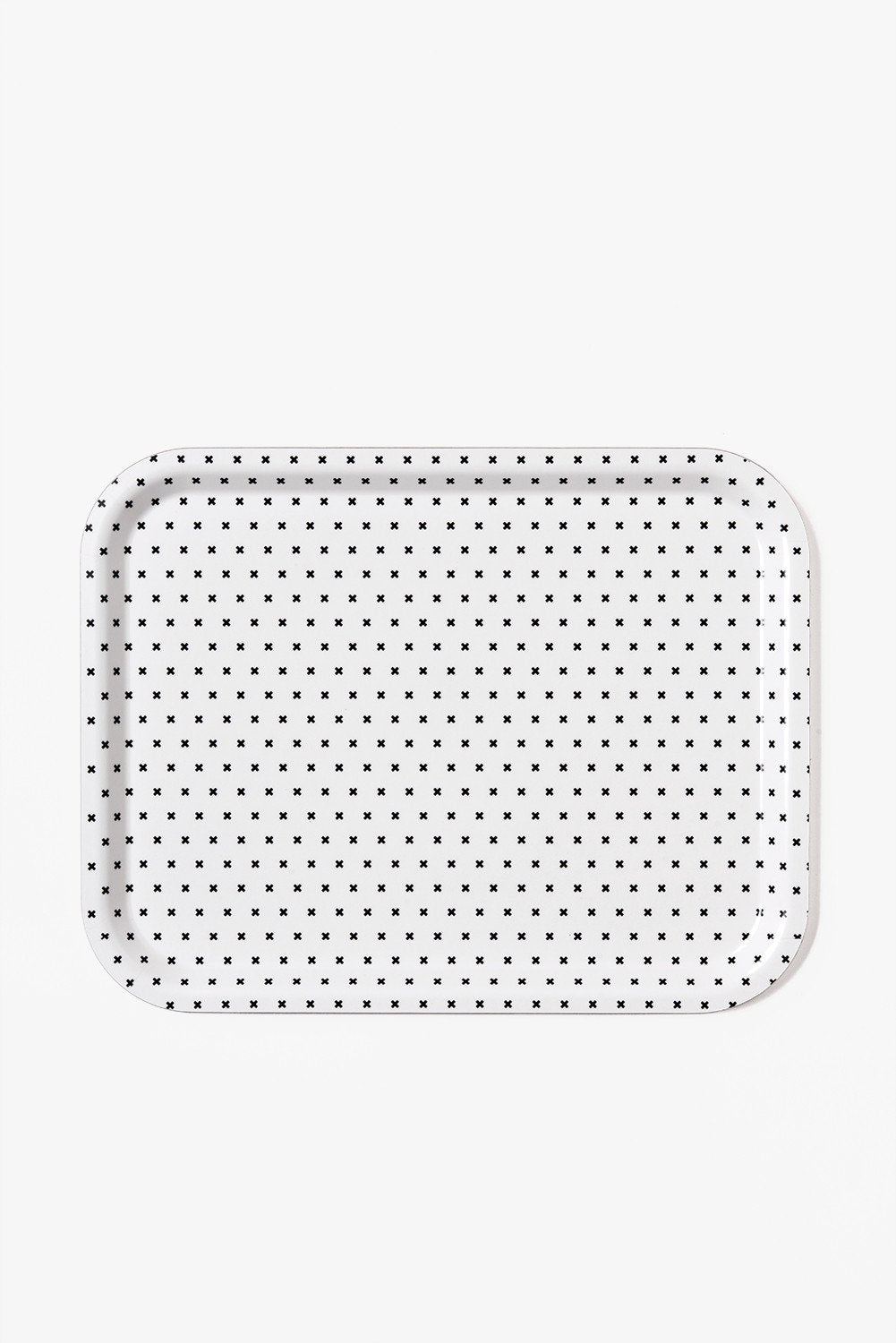 Birch Tray - Black and White Plus Pattern