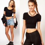 Basic Tee Workout crochet top - Rodeo.Driving