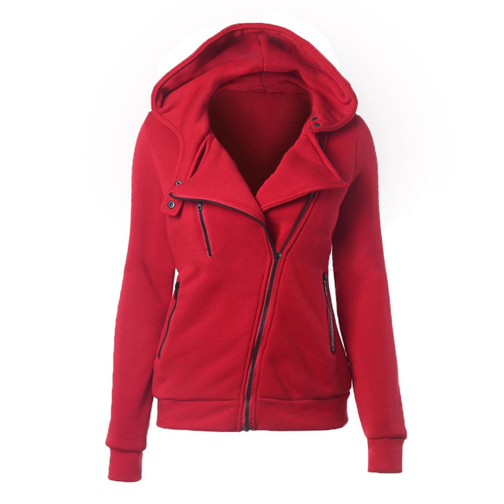 Solid Red Hoodie/Jacket - Rodeo.Driving