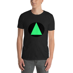 Circle and Triangle Short-Sleeve Unisex T-Shirt