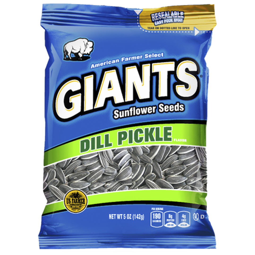 Giants Dill Pickle Sunflower Seeds