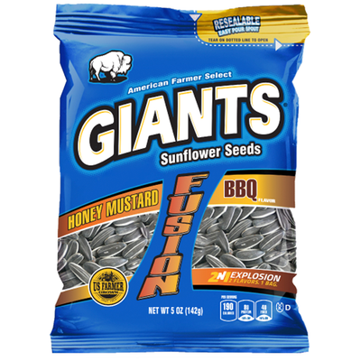 Giants Honey Mustard and BBQ Flavor Fusion